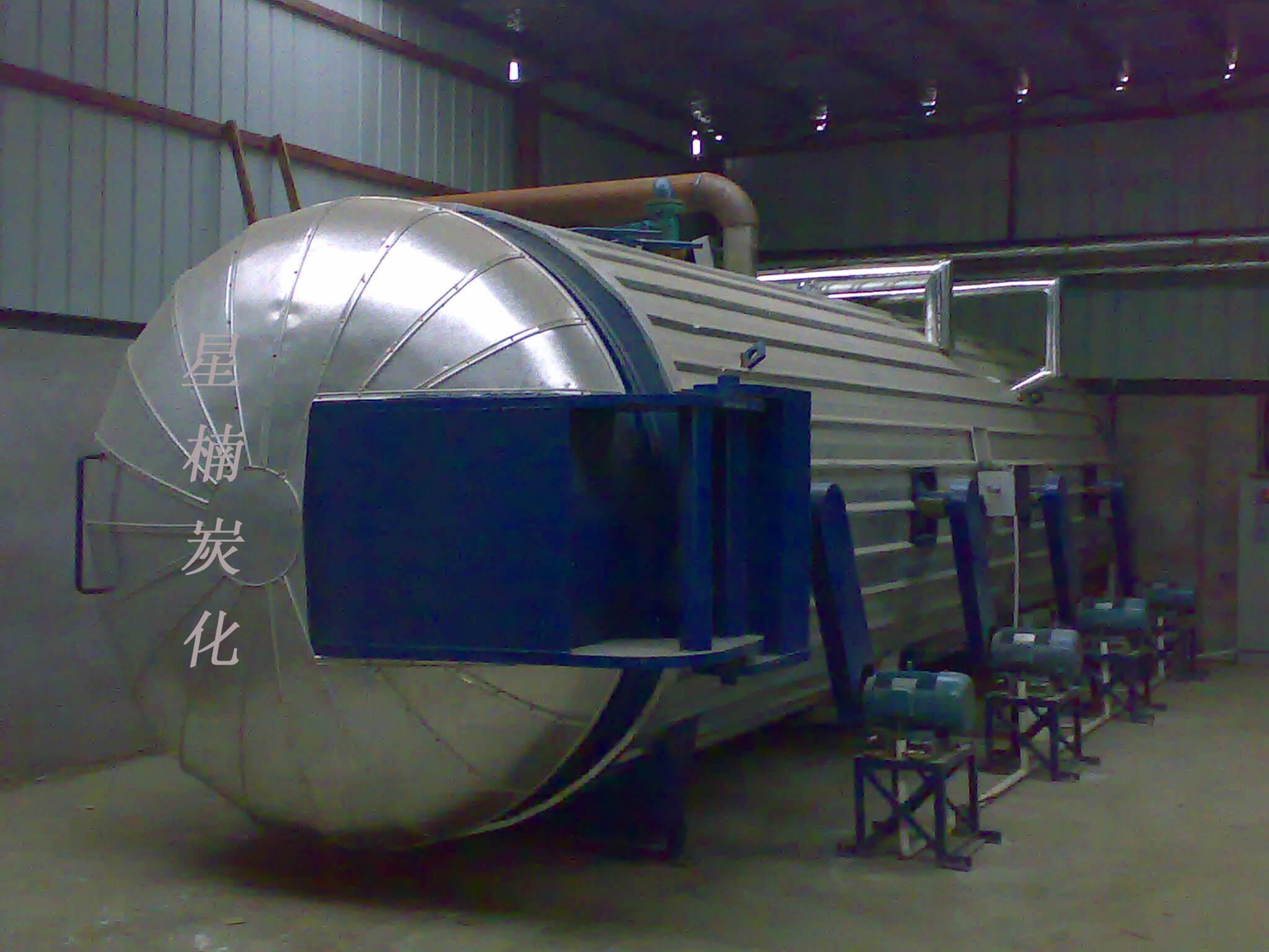 罐式木材炭化设备